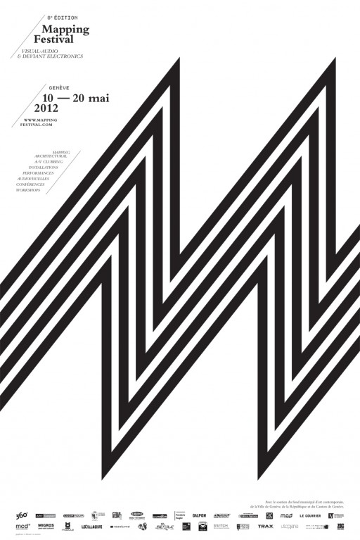 Mapping Festival affiche 2012