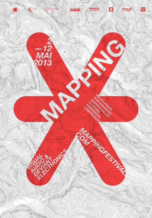 Mapping Festival affiche 2013