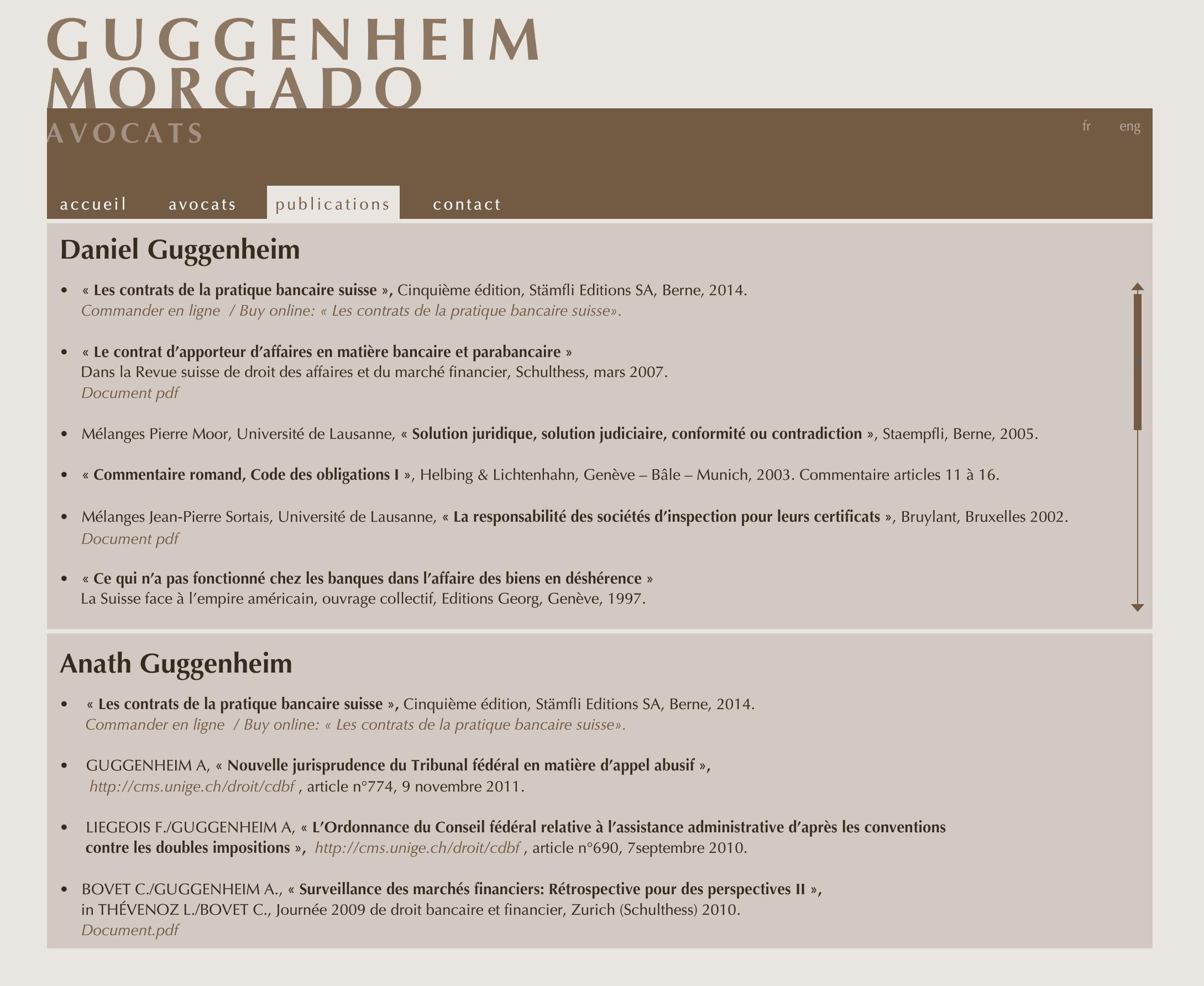 glegal - publications